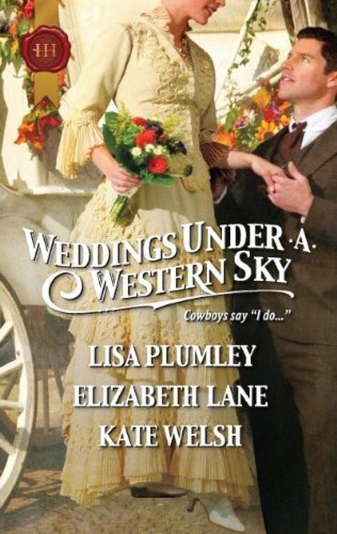 """""""Marriage at Morrow Creek"""" by Lisa Plumley (from the anthology Weddings Under A Western Sky)"""