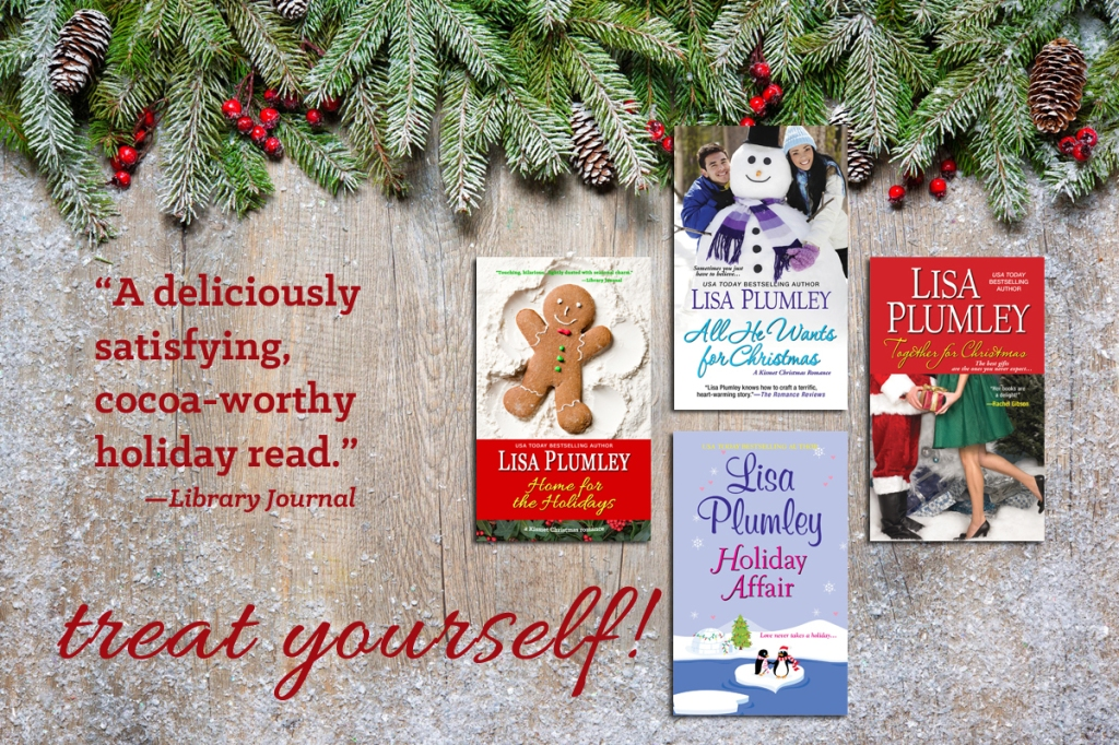 get the Kismet Christmas series 4-book bundle, exclusively at Amazon