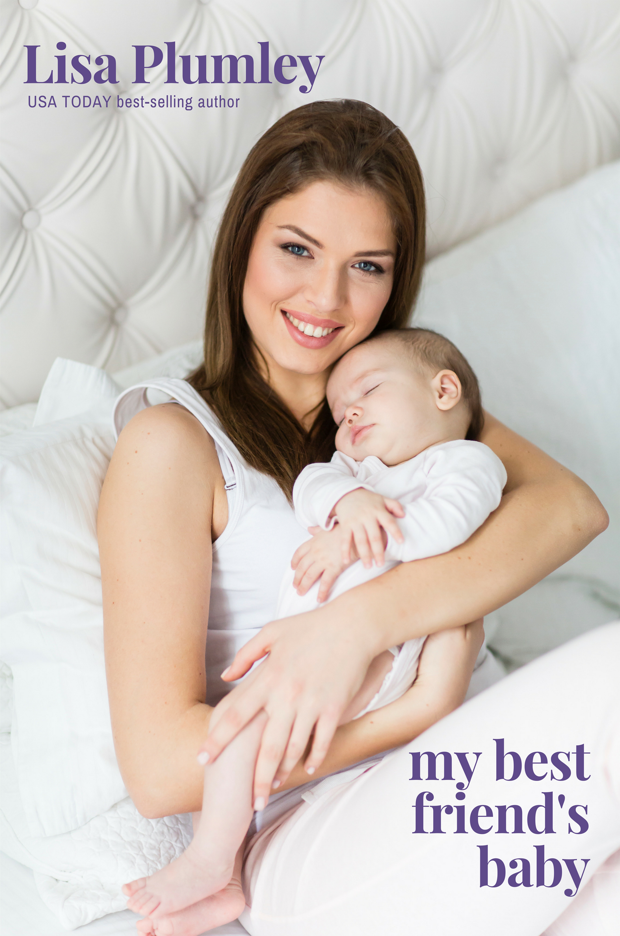My Best Friend's Baby by Lisa Plumley (paperback edition)